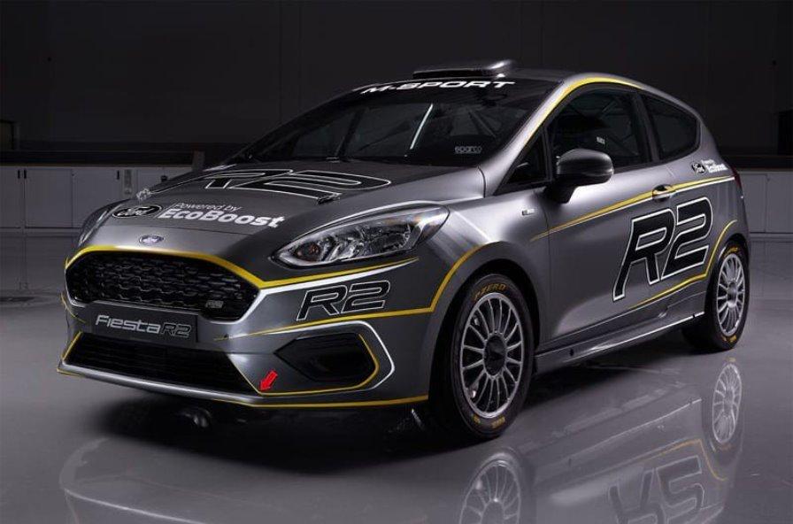 Ford представил раллийную Fiesta нового поколения