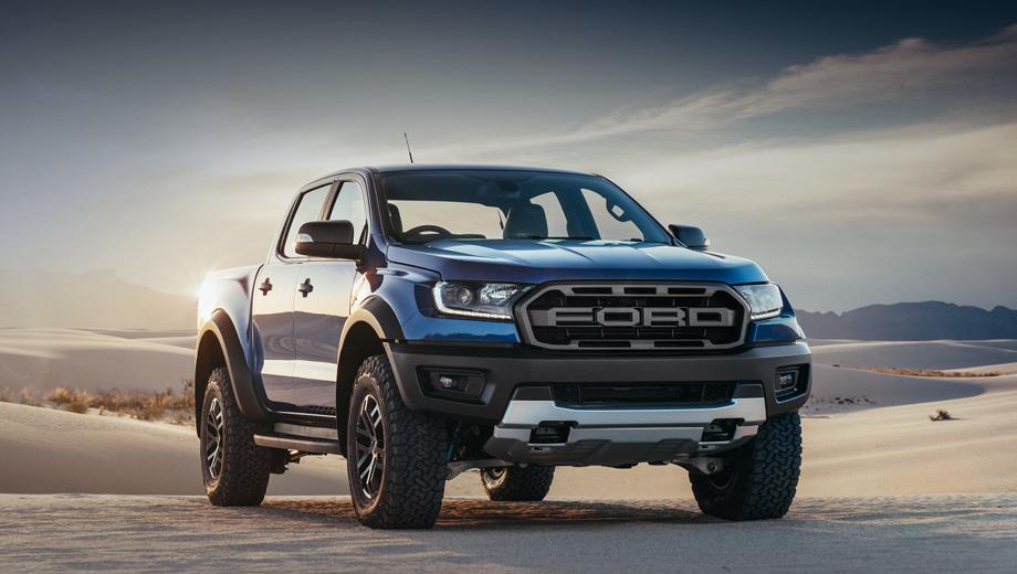 Ford рассекретил экстремальный пикап Ranger Raptor