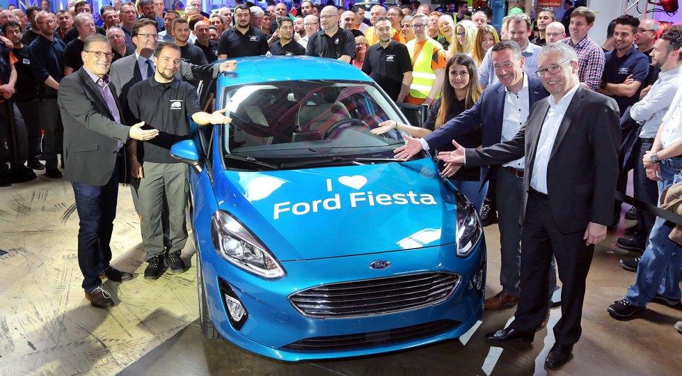 Новый Форд Fiesta встал наконвейер
