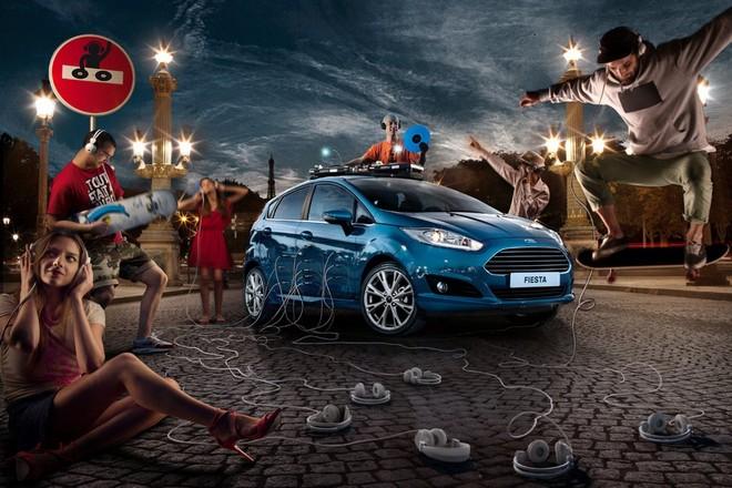 Ford Fiesta — экстерьер, фото 9