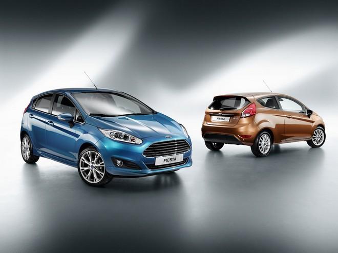 Ford Fiesta — экстерьер, фото 6