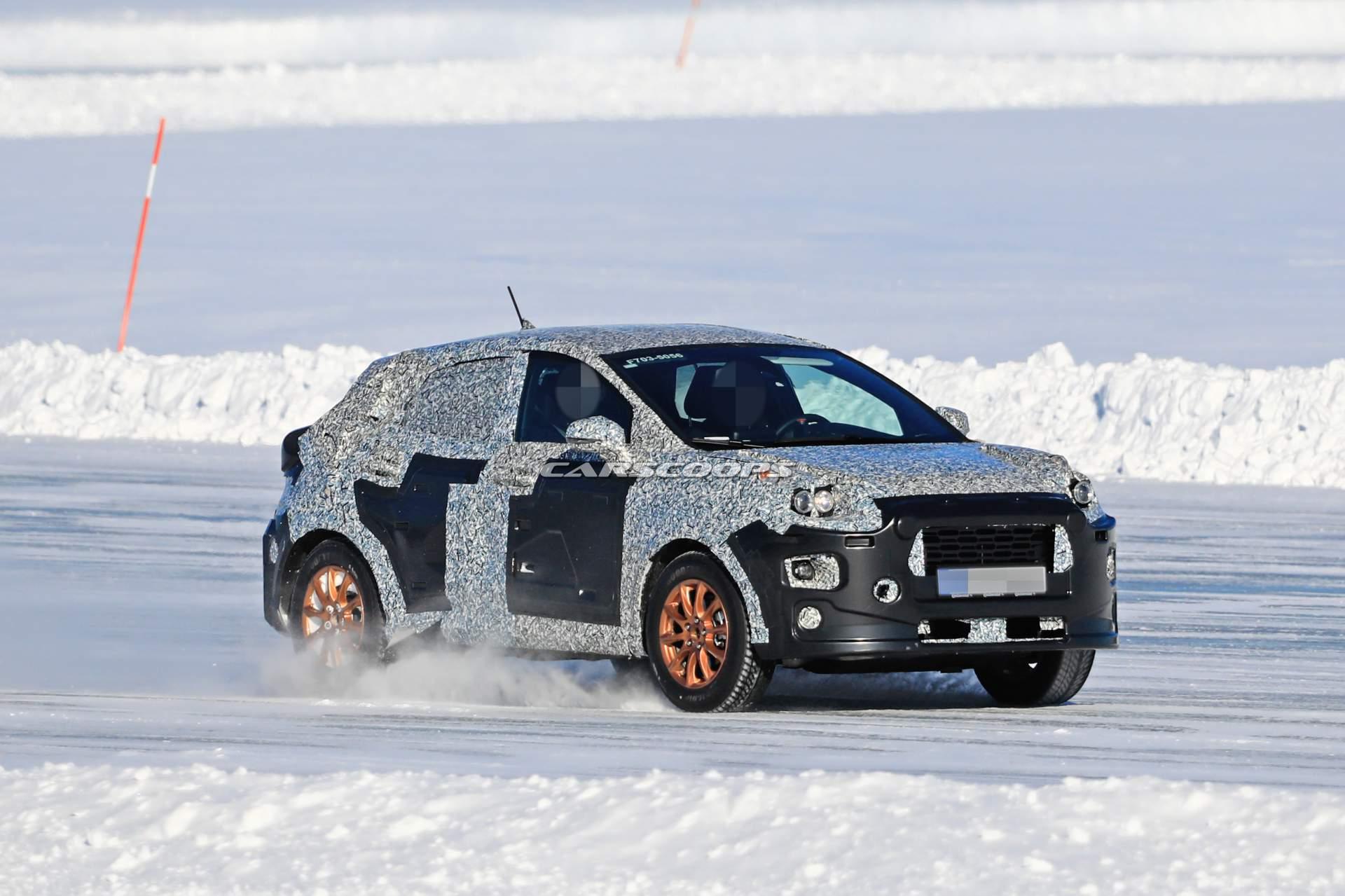 Ford тестирует новый «европейский» кроссовер