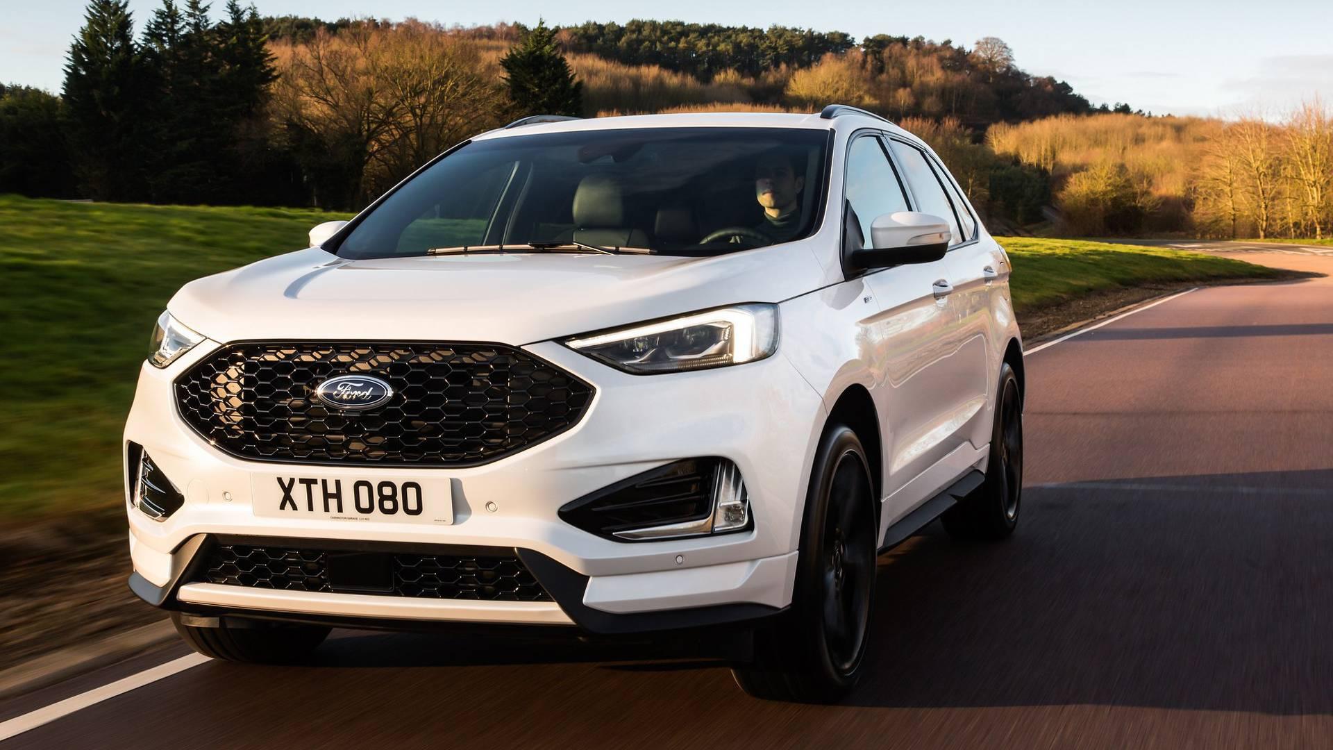 Ford представил обновлённый Edge для Европы