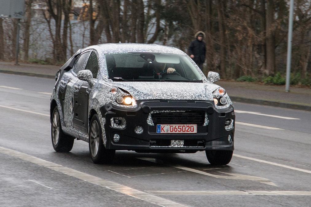 Фотошпионы показали новый кроссовер Ford для Европы