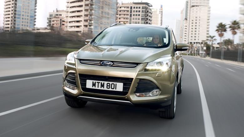 Кроссовер Ford Kuga получит «заряженную» ST-версию