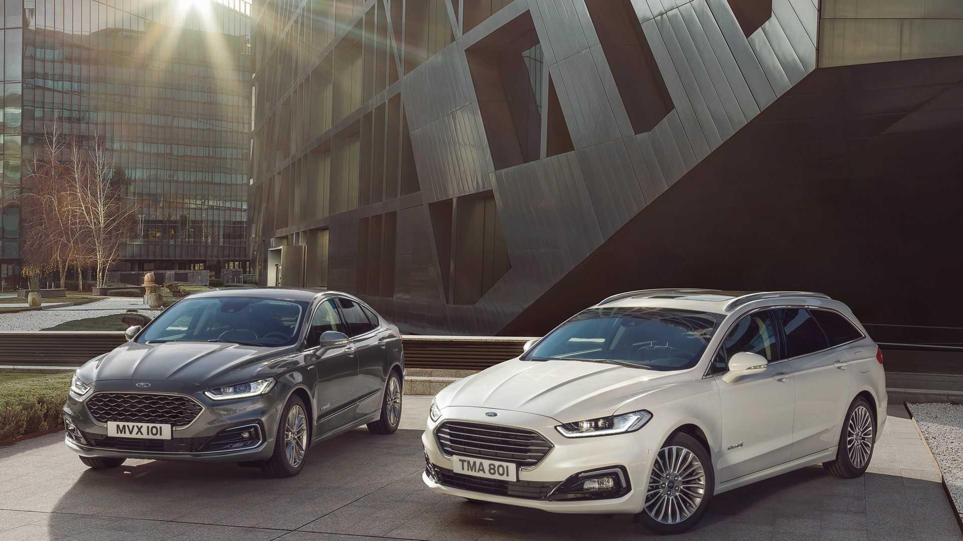 Ford Mondeo обновился и получил гибридную версию в кузове универсал