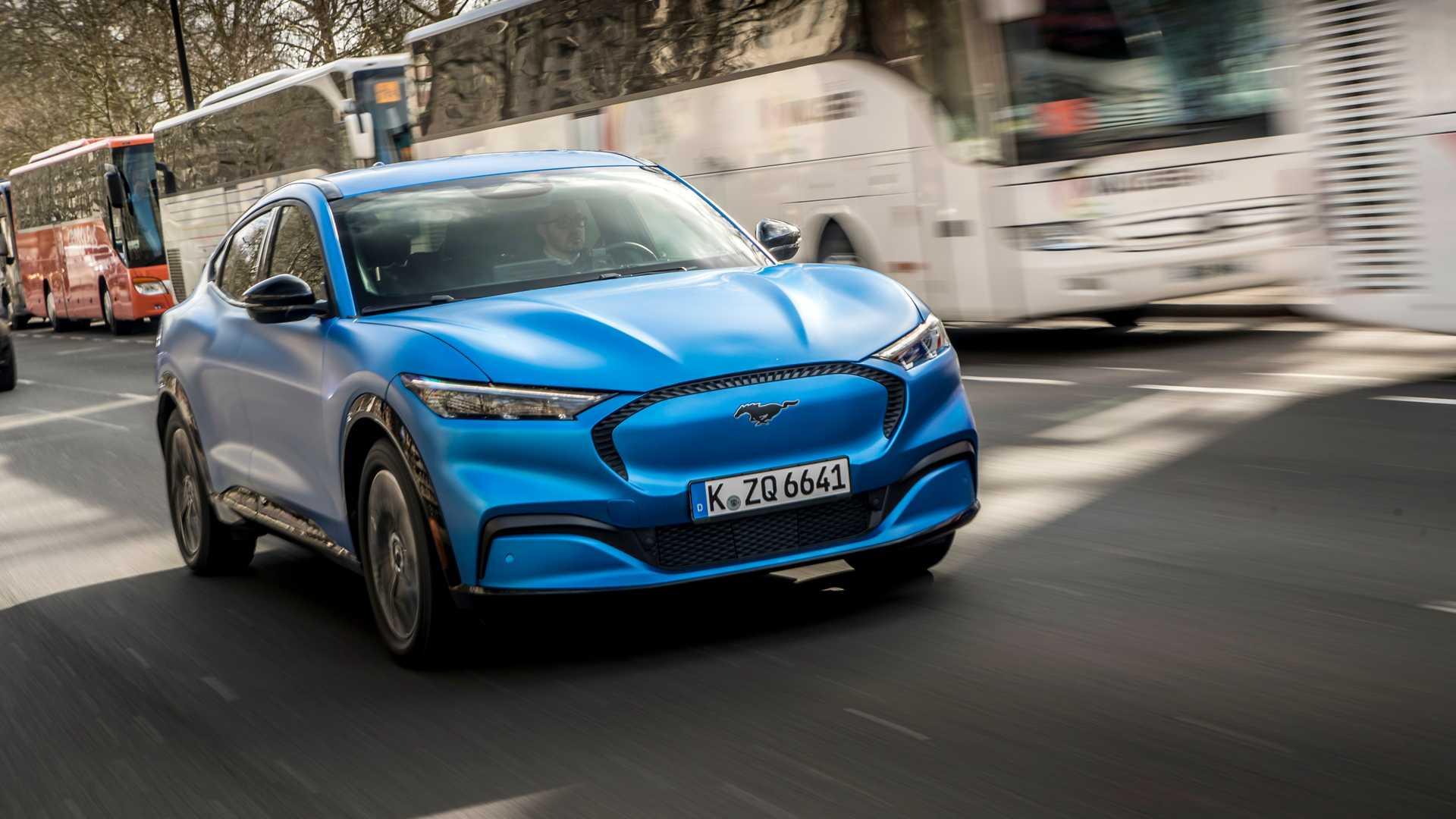 Ford Mustang Mach-E: Europäisches Debüt