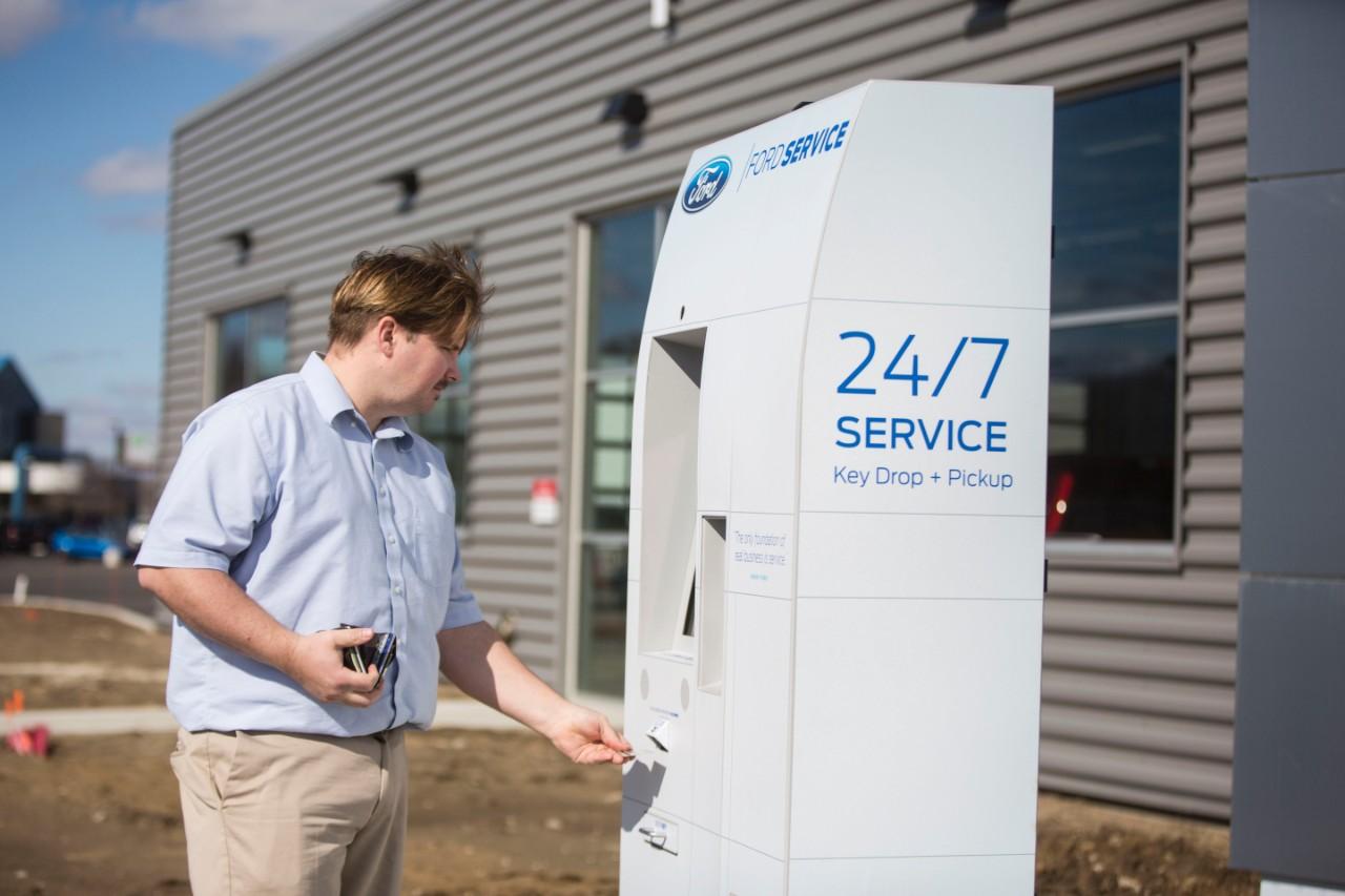 Ford и Panasonic упростили техобслуживание при помощи смарт-киоска