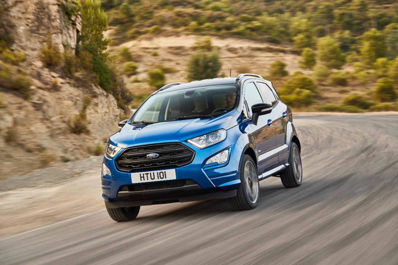 Кроссовер Ford EcoSport 2018 представлен официально