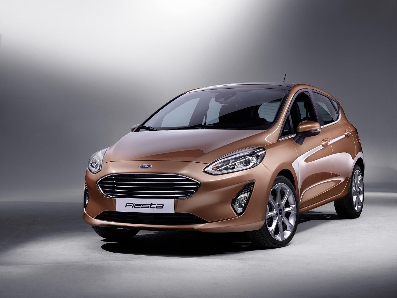 Ford представил хэтчбек Fiesta нового поколения