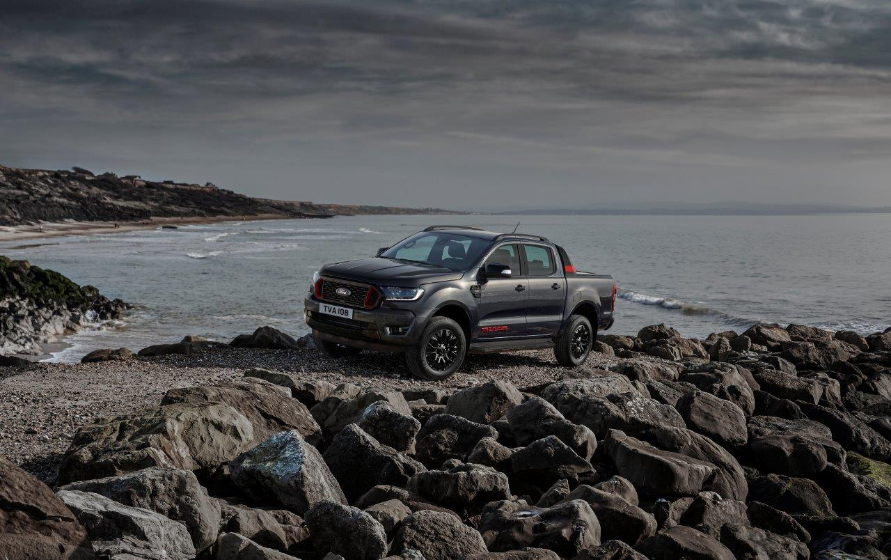 Новый Ford Ranger получил «мрачную» спецверсию