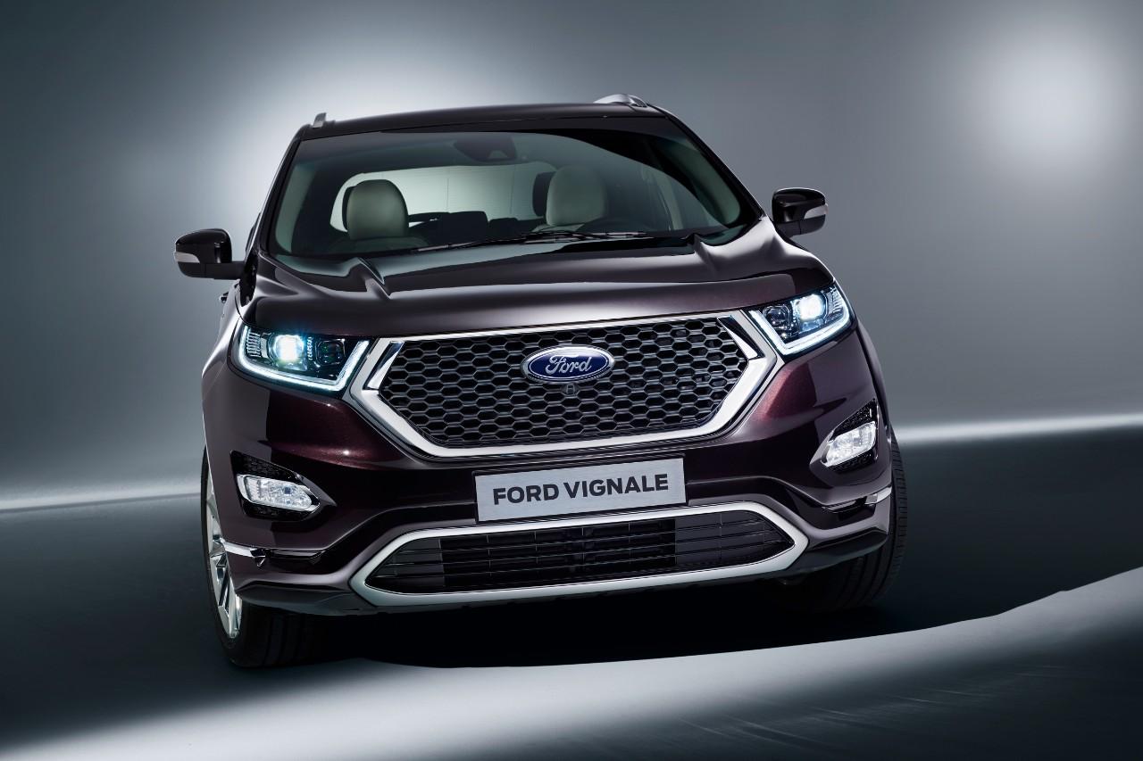 Ford добавил три модели в «роскошную» линейку Vignale