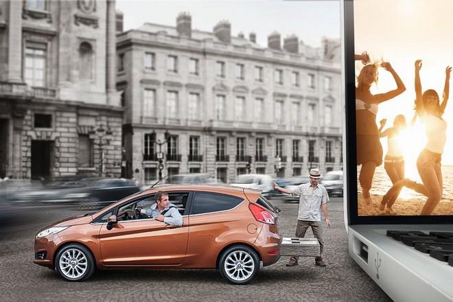 Ford Fiesta — экстерьер, фото 5