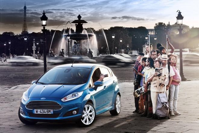 Ford Fiesta — экстерьер, фото 10