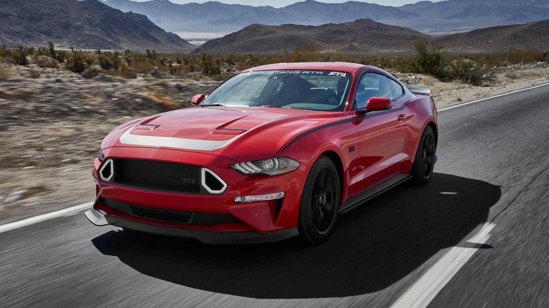 Ford предложил владельцам серийный тюнинг-пакет Series 1 Mustang RTR