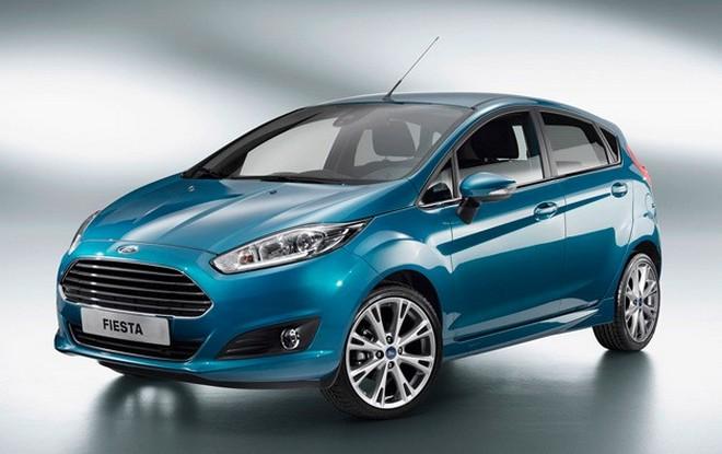 Ford Fiesta — экстерьер, фото 4