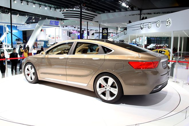 Geely Emgrand KC Concept, фото 2
