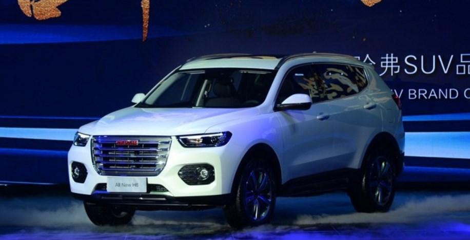 Great Wall представил кроссовер Haval H6 нового поколения