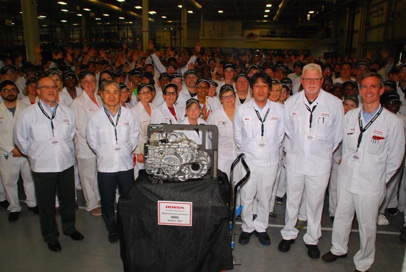 Honda запустила производство 10-ступенчатого «автомата»