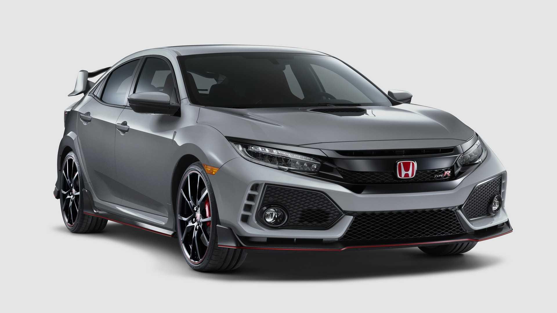 Honda показала обновленный Civic Type R