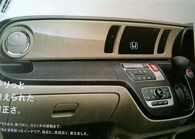 Honda N — интерьер