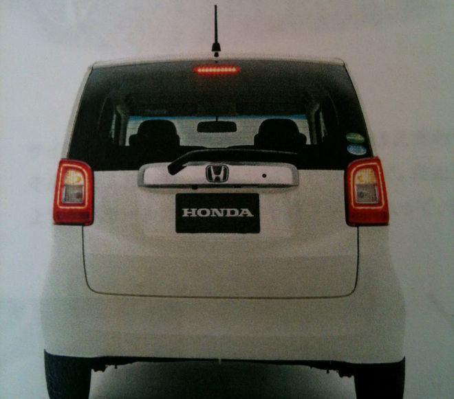 Honda N — экстерьер, фото 2
