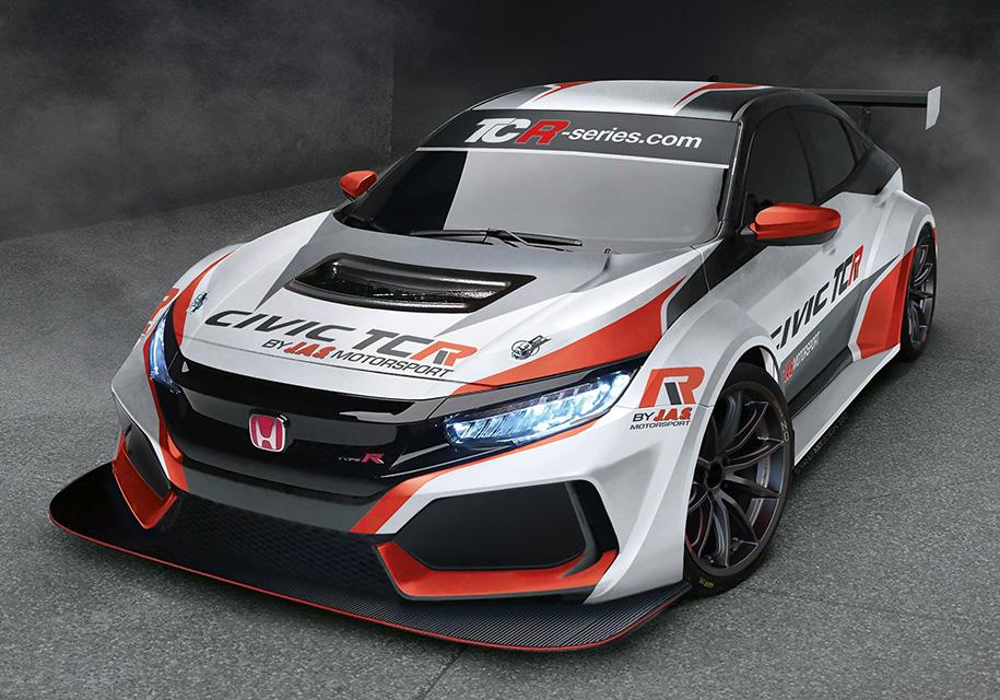 JAS Motorsport подготовила хэтчбек Civic Type R для коротких и длинных гонок