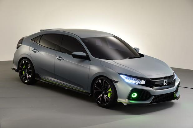 В Женеве представлен прототип нового хэтчбека Honda Civic (видео)