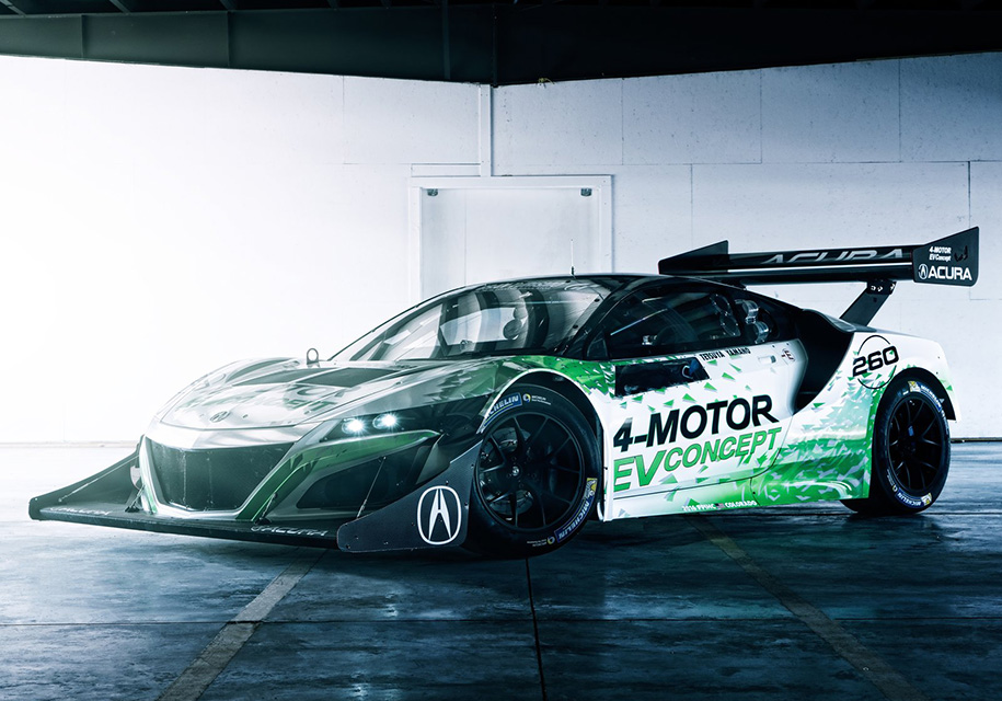 Honda выпустит электрический суперкар