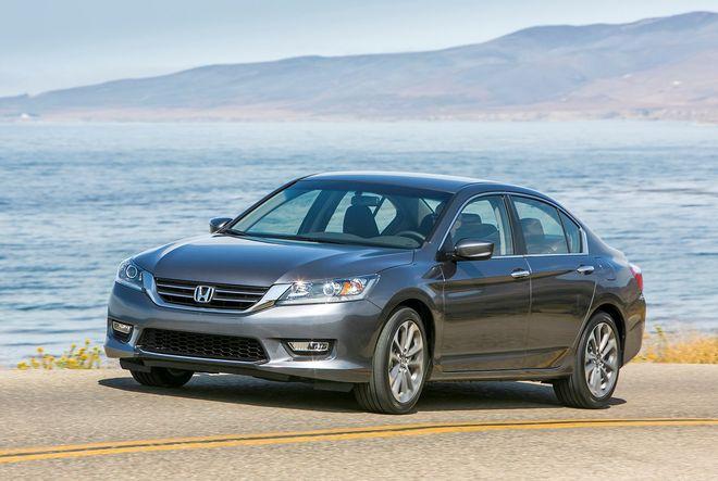 Новый седан Honda Accord получит в России мотор V6 Motor.