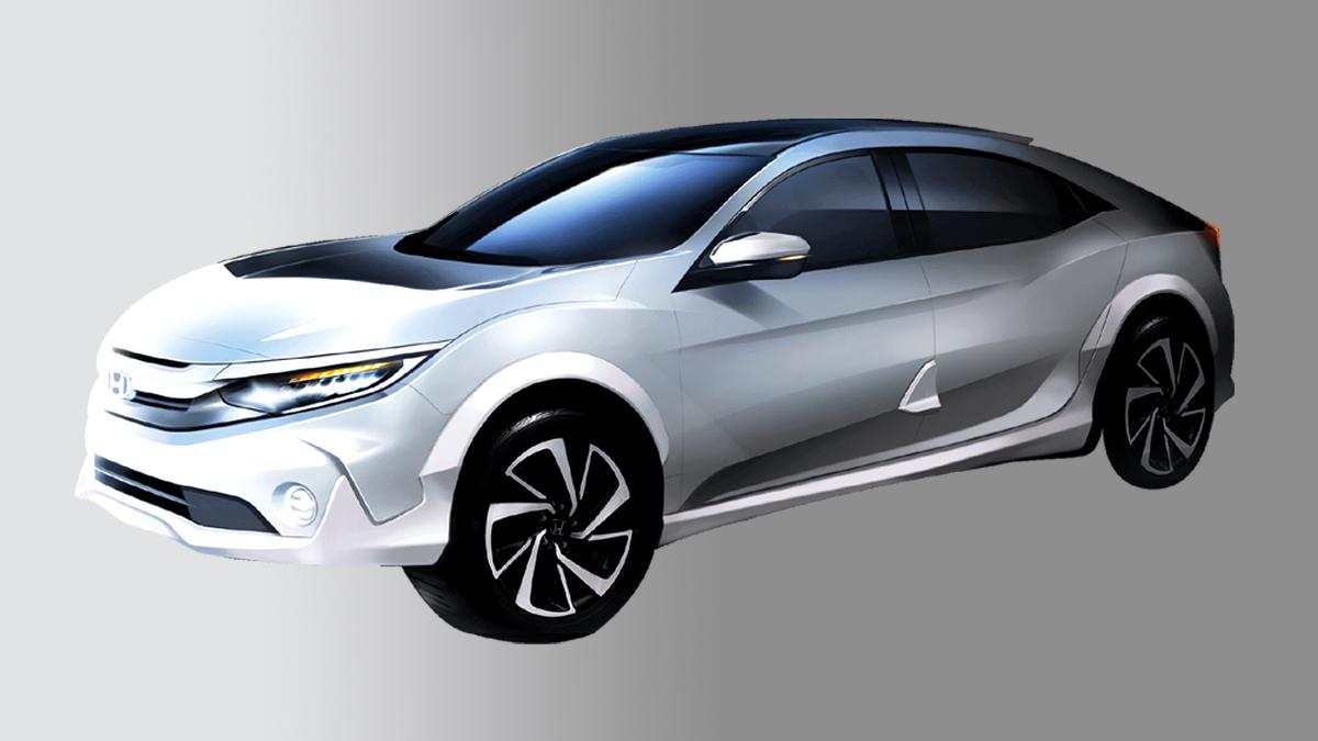 У Honda Civic появится «вседорожная» версия