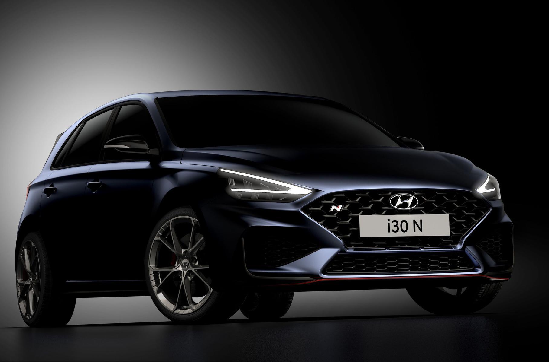 Der aktualisierte Hyundai i30 N wurde auf offiziellen Bildern angezeigt