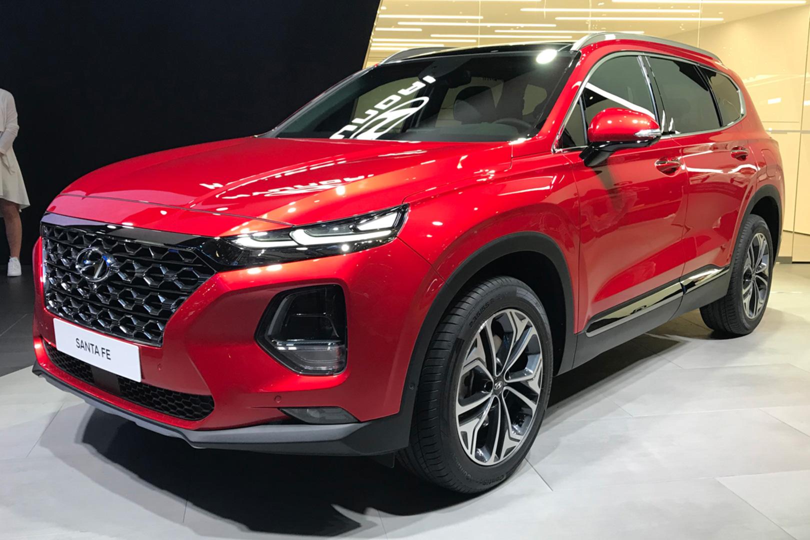 Женева 2018: европейская премьера абсолютно нового Hyundai Santa Fe
