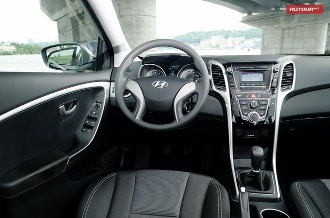 Hyundai i30 — интерьер