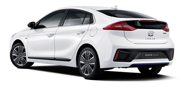 Hyundai представила новую гибридную модель Ioniq