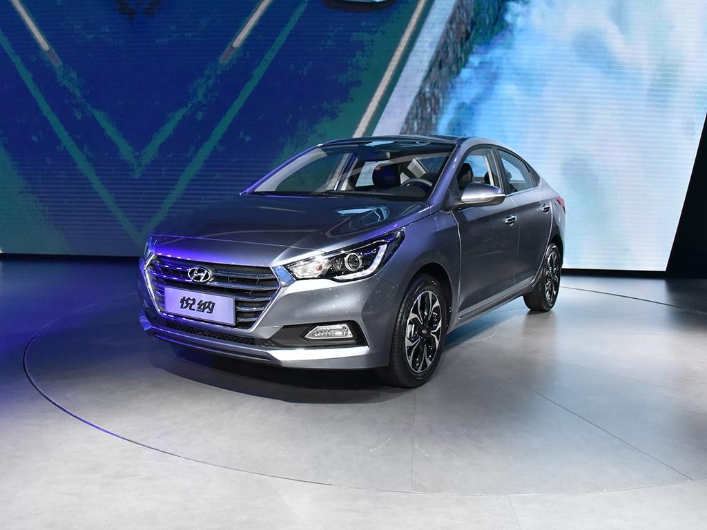 Новый Hyundai Accent представлен в серийном варианте для Китая