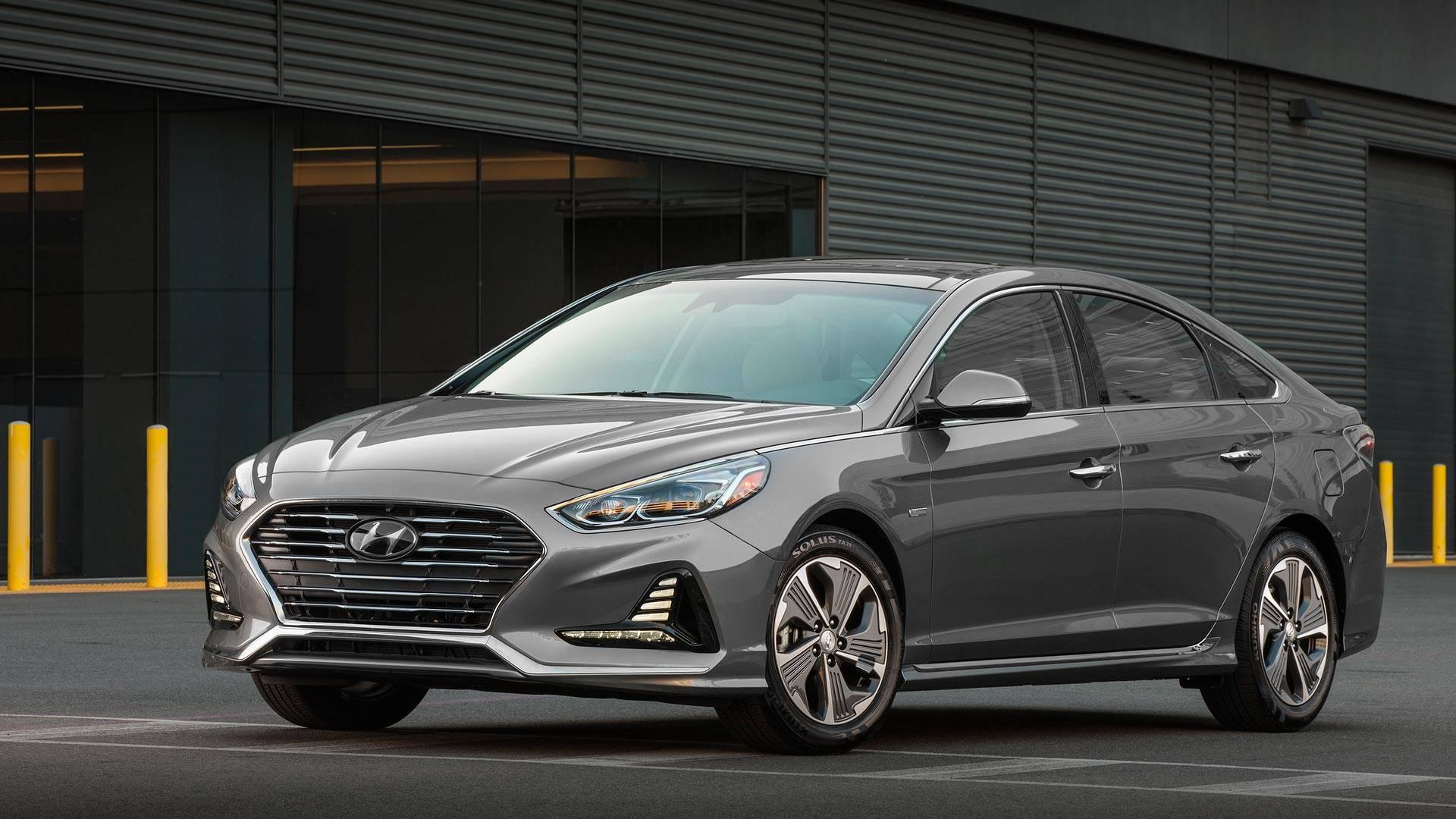 Hyundai представила обновлённые гибриды Sonata 2018