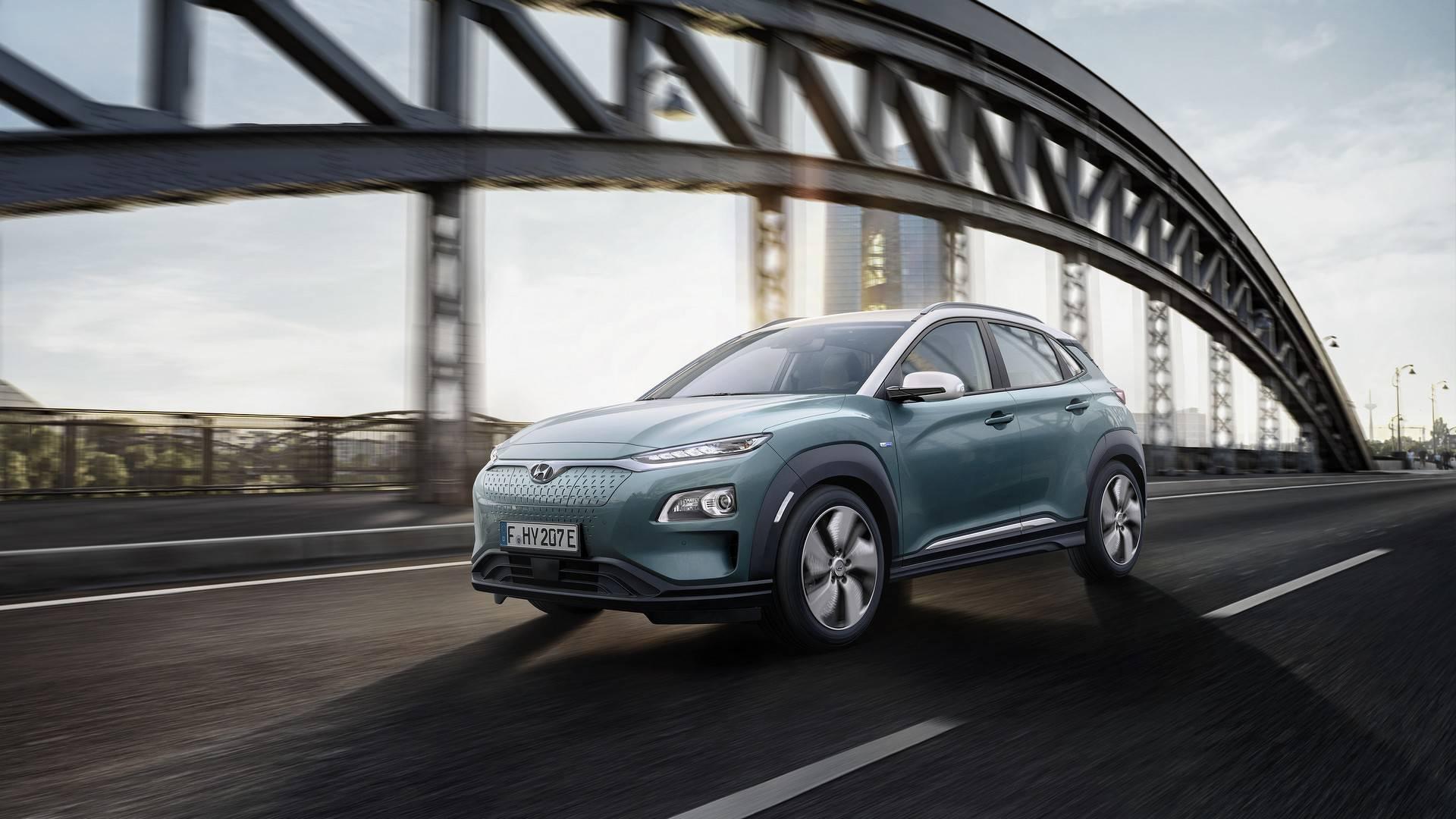 Электромобиль Hyundai Kona дебютировал в двух версиях