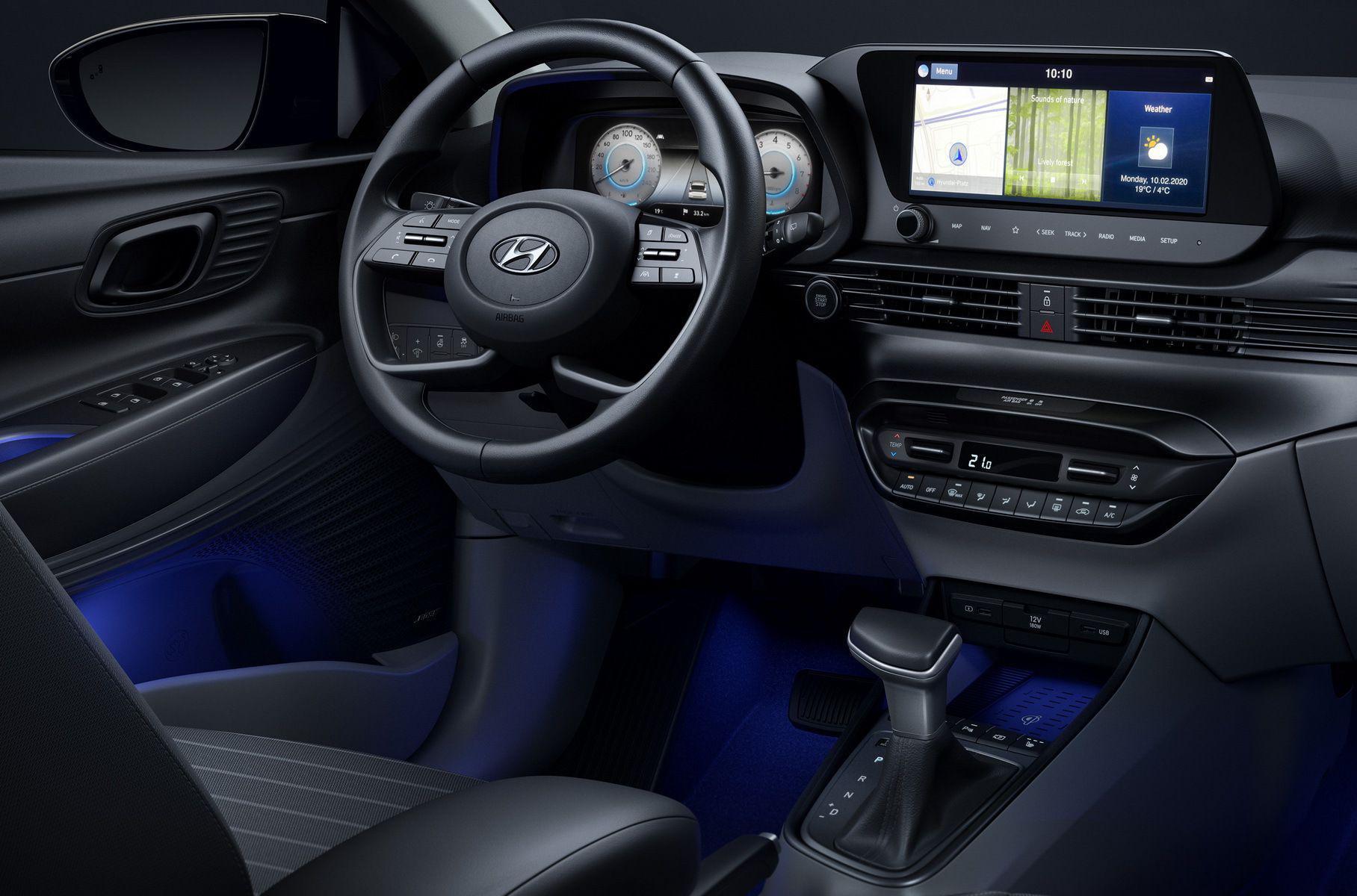 Новый Hyundai i20 показал салон