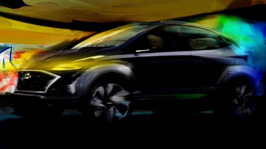 Hyundai покажет компактный кроссовер Saga EV в Бразилии