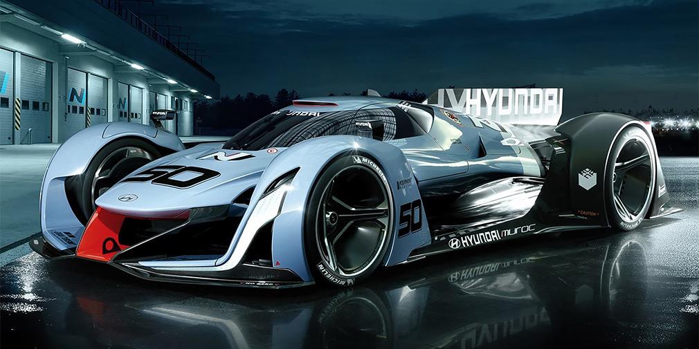 Hyundai покажет в Детройте водородный суперкар