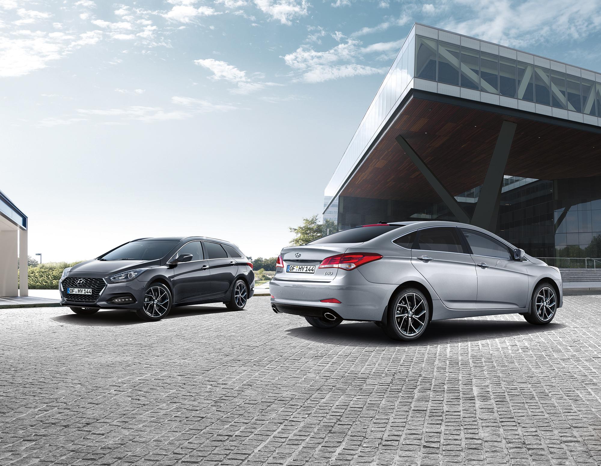 Семейство Hyundai i40 обновили для Европы