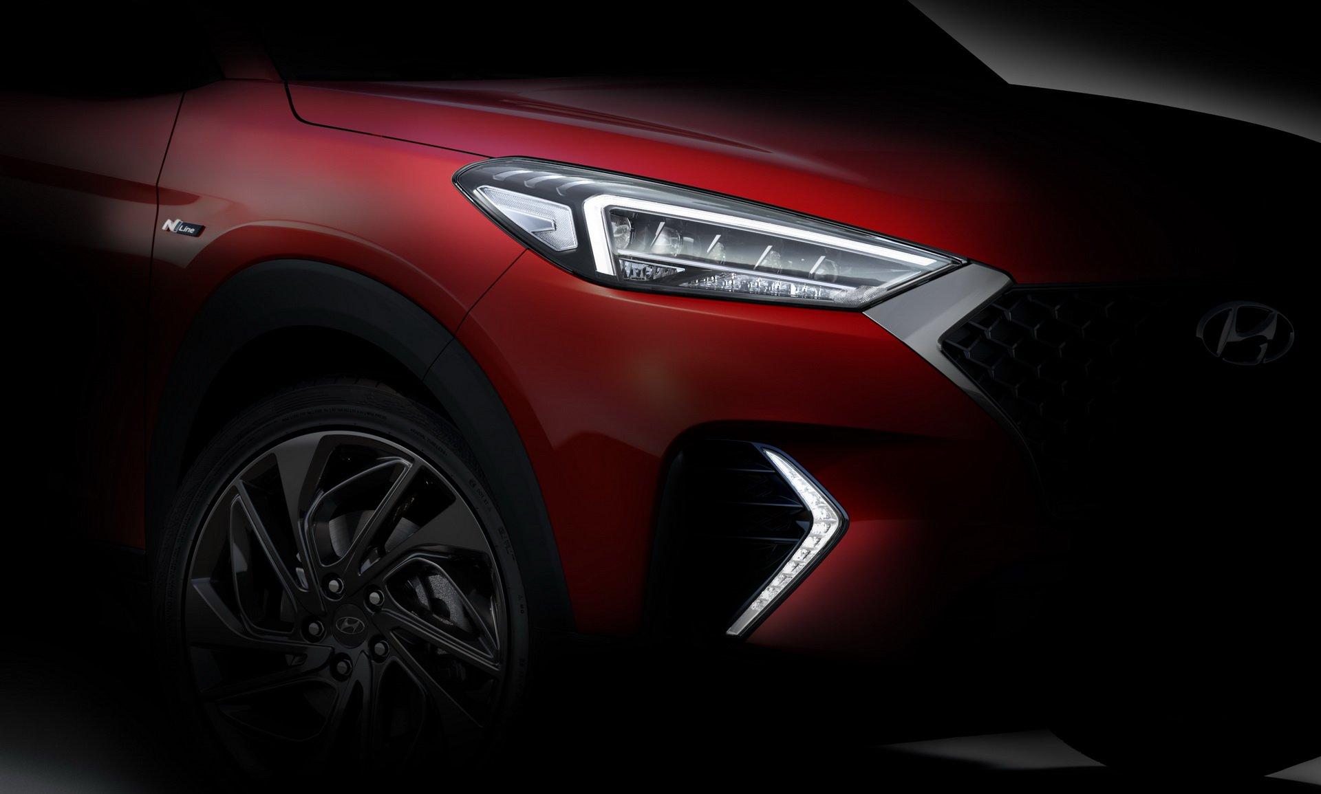 Hyundai анонсировал новую версию кроссовера Tucson