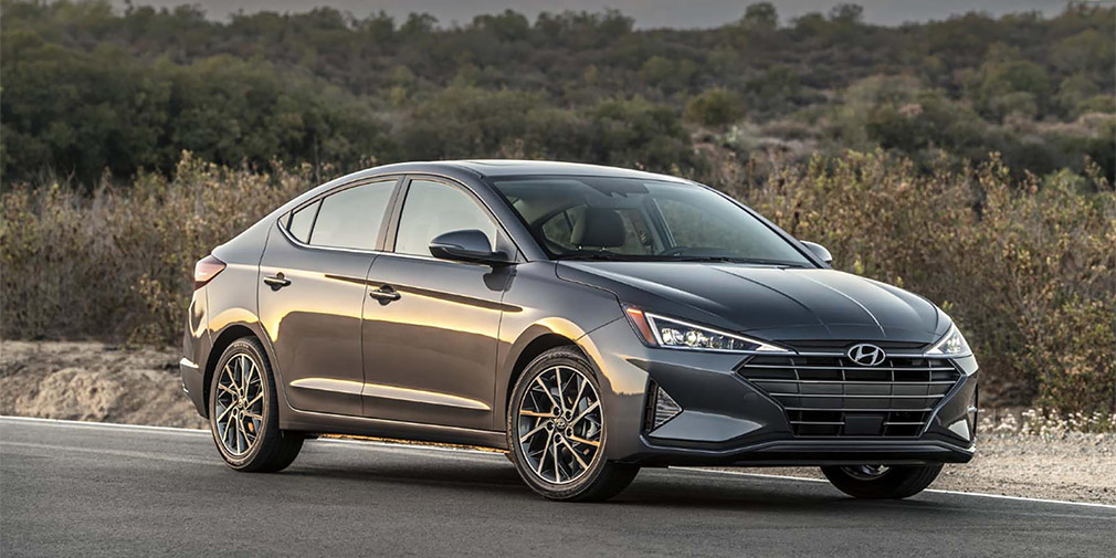 В США представлен обновленный седан Hyundai Elantra