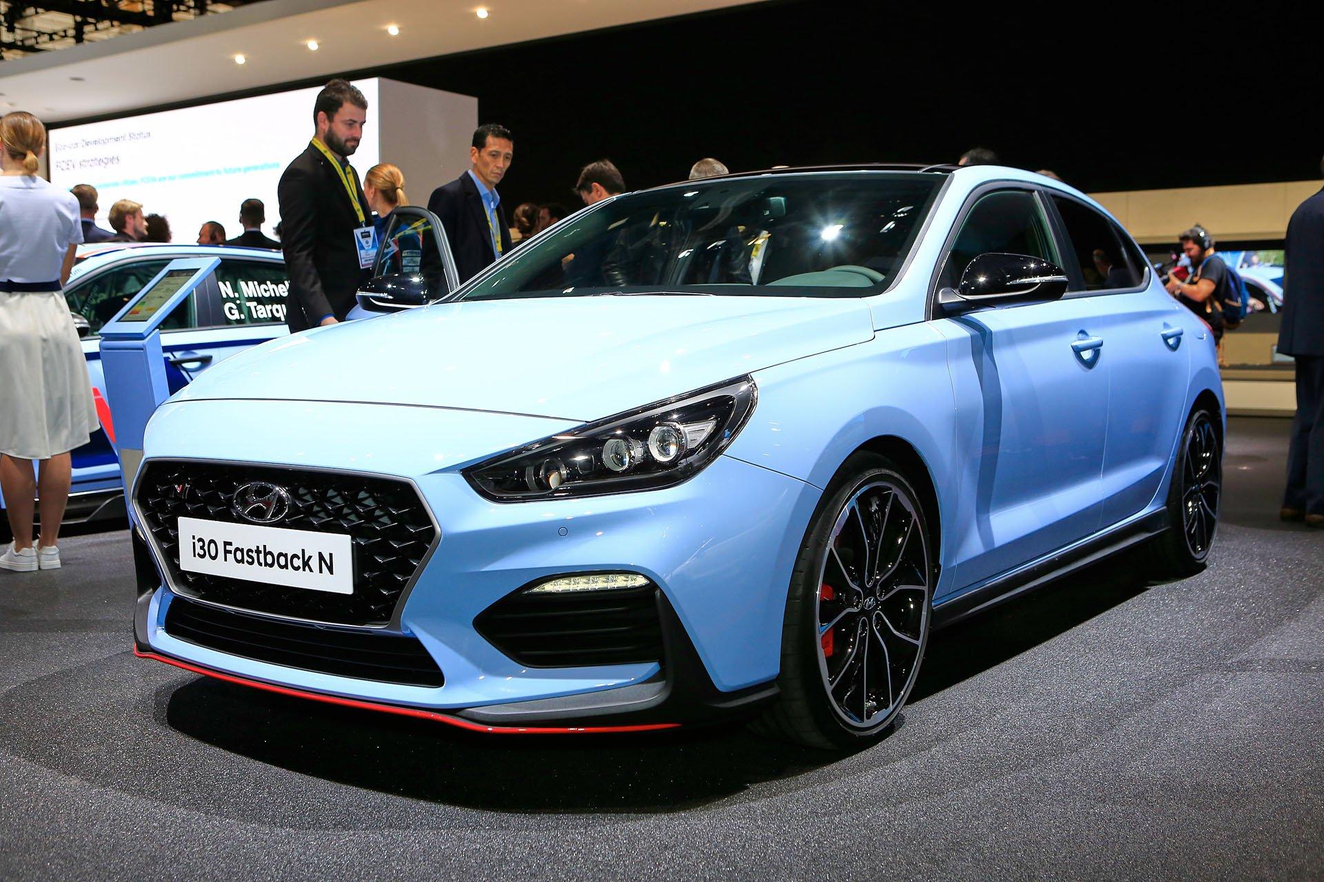 Париж 2018: Hyundai привезла тюнингованный вариант «заряженного» хэтчбека i30 N