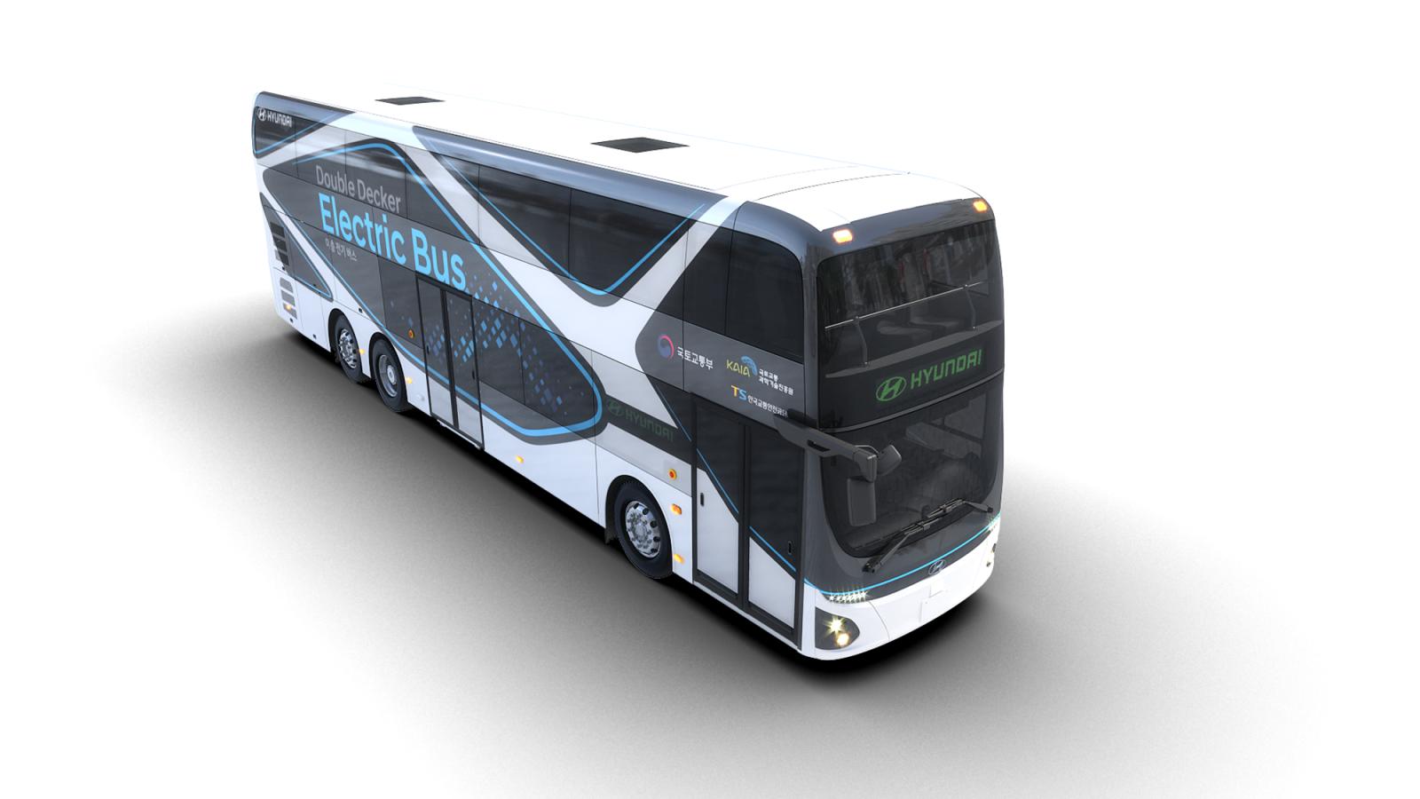 Hyundai представила электрический двухэтажный автобус