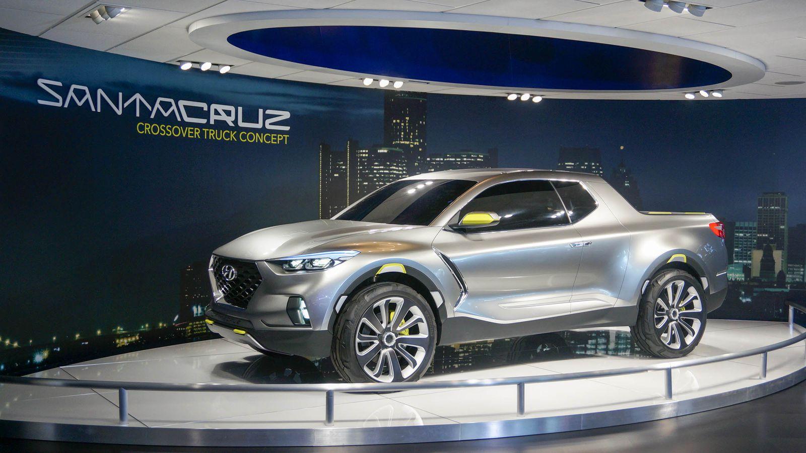 Выпуск пикапа Hyundai на базе Tucson следующего поколения откладывается