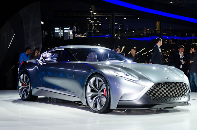 Сеул 2013: Hyundai Luxury Coupe Concept HND-9
