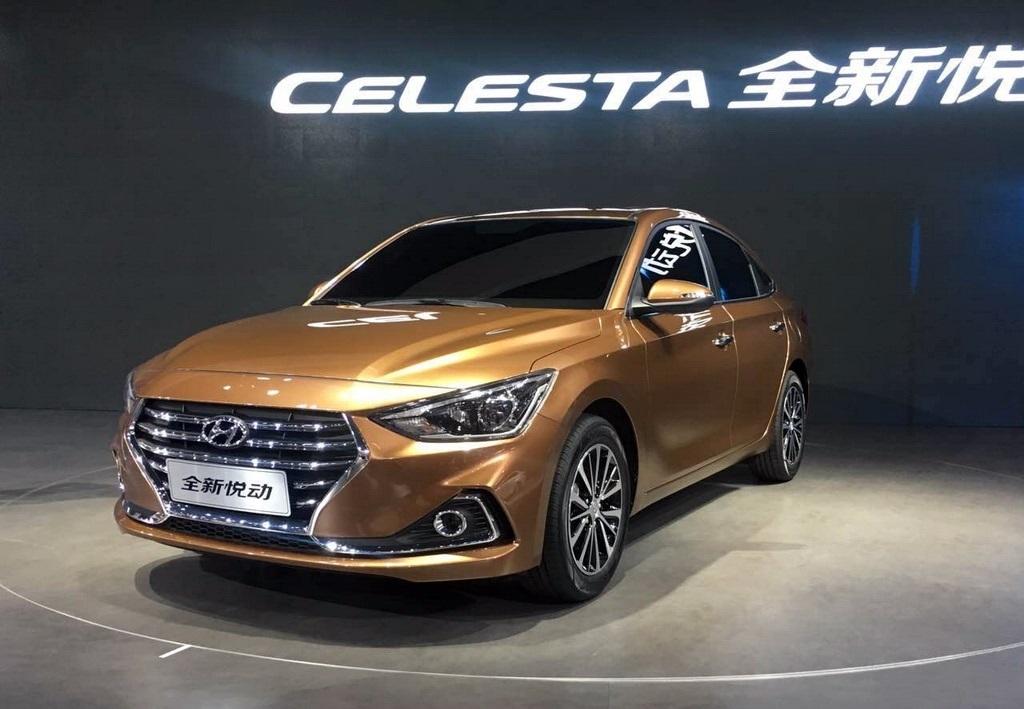 Седан Hyundai Celesta заполнит нишу между Accent и Elantra