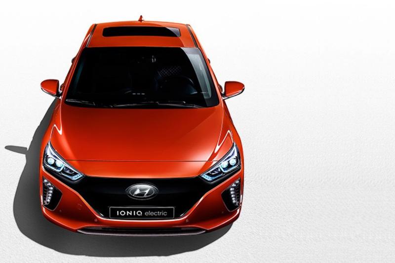 Hyundai рассказала о новом электромобиле IONIQ